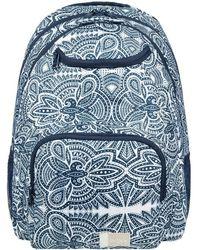 Roxy - Shadow Swell - Mochila Mediana Erjbp03644 Women's Backpack In Blue - Lyst