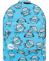 Mi-Pac - Mi-pac Mr Men Backpack - Mr Bump Blue Women's Backpack In Blue - Lyst