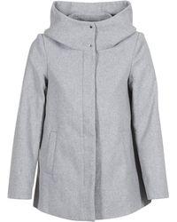 Vero Moda - Vmhyper Women's Coat In Grey - Lyst