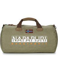 Napapijri - Bering Men's Travel Bag In Green - Lyst