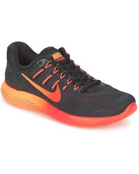 Nike - Lunarglide 8 Men's Running Trainers In Black - Lyst