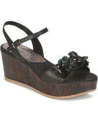 Hispanitas - Corfu Women's Sandals In Black - Lyst