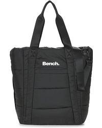 Bench - Padded Nylon Shopper Women's Shopper Bag In Black - Lyst
