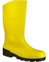 Dunlop - Devon Welly Men's Wellington Boots In Yellow - Lyst