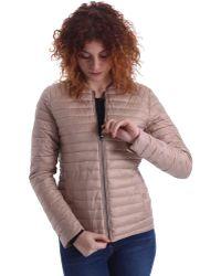 Byblos Blu - 669101 Down Jacket Women Women's Coat In Beige - Lyst