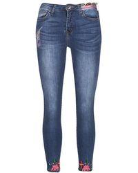 Desigual - Teriaol Women's Jeans In Blue - Lyst