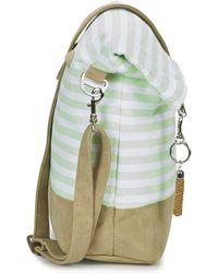 Bench - Canvas Crossbag Women's Shoulder Bag In Beige - Lyst