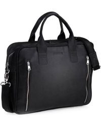 Brødrene - Brã ̧drene Skórzana Na Laptop Brodrene Bl02 Czarna Women's Briefcase In Black - Lyst