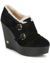 Love Moschino - Ja1010 Women's Low Boots In Black - Lyst