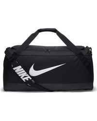 Nike - Brasilia Large Training Duffel Bag Men's Sports Bag In Black - Lyst