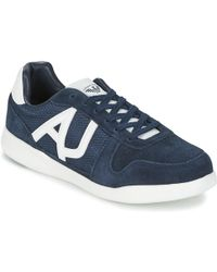 Armani Jeans - Sokora Men's Shoes (trainers) In Blue - Lyst