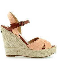 Pepe Jeans - Walker Romantic Pls90177 Women's Sandals In Pink - Lyst