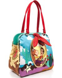 Irregular Choice - Ride Like The Wind Women's Shoulder Bag In Multicolour - Lyst