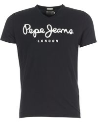 Pepe Jeans - Original Stretch Crew Neck Short Sleeve T-shirt - Lyst