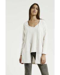 Max & Moi - Cardigan Norton White Woman Autumn/winter Collection Women's In White - Lyst