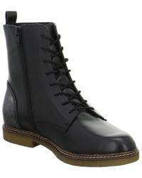 S.oliver - 552521627001 Women's Mid Boots In Black - Lyst