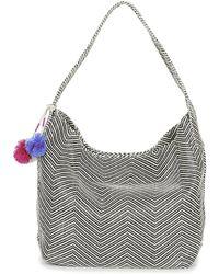 Volcom - The Market Hobo Women's Shoulder Bag In Black - Lyst
