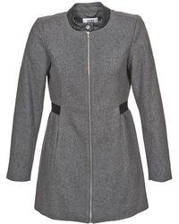 Vero Moda - Capella Women's Coat In Grey - Lyst