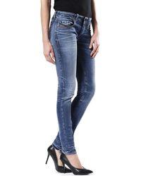DIESEL - GRUPEE 0674Z femmes Jeans en multicolor - Lyst