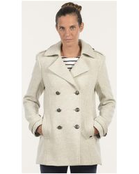 Mat De Misaine - Pea Jacket Florence Women's Coat In Other - Lyst