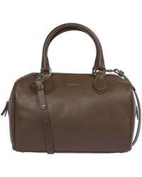 Trussardi - 1db505marronescuro210636 Men's Travel Bag In Brown - Lyst
