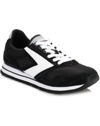 Brooks - Womens Jet Black/white Chariot Trainers Women's Shoes (trainers) In Multicolour - Lyst