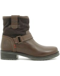 Wrangler - Wl162541 Ankle Boots Women Dark Brown Women's Mid Boots In Brown - Lyst
