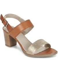 Casual Attitude - Germille Women's Sandals In Brown - Lyst
