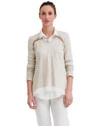 Mado Et Les Autres - Pullover Claire Women's Jumper In Beige - Lyst