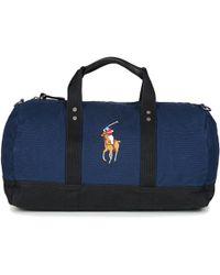 95f69105e026 Polo Ralph Lauren - Pp Duffle-duffle-medium Men s Travel Bag In Blue -