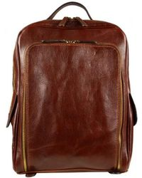 Time Resistance - The Sun Also Rises Women's Backpack In Brown - Lyst