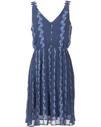 Betty London - Inota Women's Dress In Blue - Lyst