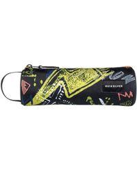 Quiksilver - Pencilo Pencil Case - Black Thunderbolts Men's Cosmetic Bag In Black - Lyst