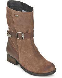 Gas - Regan Women's Mid Boots In Brown - Lyst