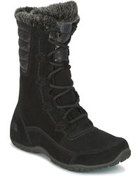 The North Face - Nuptse Purna Women's Snow Boots In Black - Lyst