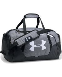 d70337b4449 Under Armour - Undeniable 3.0 Small Duffel Bag - Graphite / Black / White  Men's Sports
