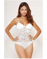 Infinie Passion - White Sexy Body 00w049028 Women's In White - Lyst