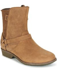 Teva - De La Vina Dos Women's Mid Boots In Brown - Lyst