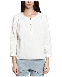 French Trotters - Kristen Shirt 39879 White Women's Shirt In White - Lyst