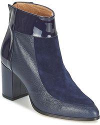 Fericelli - Saroli Women's Low Ankle Boots In Blue - Lyst