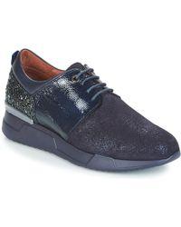 Hispanitas - Cinnamon Women's Shoes (trainers) In Blue - Lyst