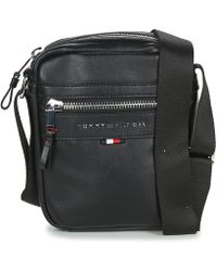 c7c6a0ffe10 Tommy Hilfiger - Elevated Mini Reporter Novelty Men's Pouch In Black - Lyst