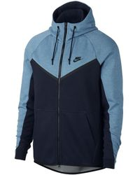 8f3c9eefe372 Nike - Tech Fleece Windrunner Men s Sweatshirt In Multicolour - Lyst