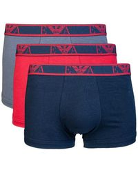 Armani - Boxer Shorts 3 Pack 111357 8a715 Men's In Multicolour - Lyst