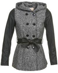 Moony Mood - Daze Women's Coat In Grey - Lyst