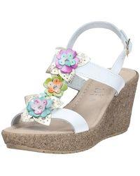 Brigitte Bardot   91909 Sandals Women's Sandals In White   Lyst