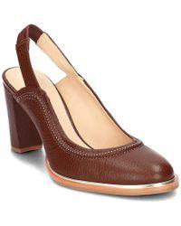 4d151e502e0 Clarks - Ellis Ivy Women s Court Shoes In Brown - Lyst