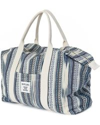 Rip Curl   Beach Bazaar Weekender Bag Ltrzz3 Women's Handbags In Blue   Lyst