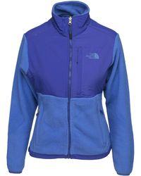 The North Face - Glacier Full Zip Women's Fleece Jacket In Blue - Lyst
