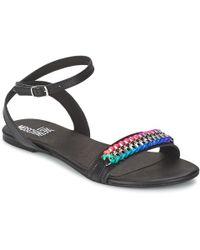 ec72db3ee83c Love Moschino - Ja16311c0kjf0000 Women s Sandals In Black - Lyst